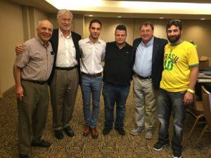 Levon, Frank, Aram, Sarkis and Andranik